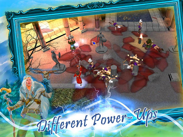 Brave Alchemist Screenshot 3. Pick up Different Power-Ups!