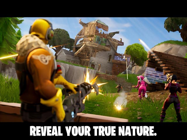 Fortnite Screenshot and Hint 1. Reveal your true nature !