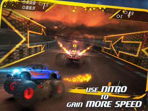 Insane Monster Truck Racing Screenshot and Hint 1