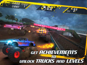 Insane Monster Truck Racing Screenshot and Hint 3