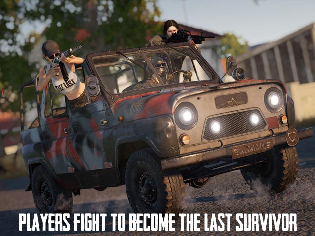 PUBG LITE Screenshot and Hint 3. Players fight to become the last survivor!