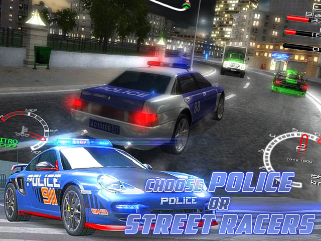 Street Racers Vs Police Screenshot